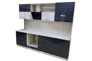 Кухня пластик в кромке ПВХ - Мебельная фабрика «Таита»