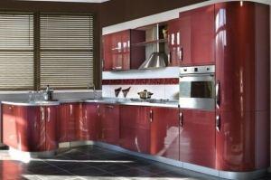 Кухня пленка Мишель МДФ со сферическими фасадами - Мебельная фабрика «КамиАл»
