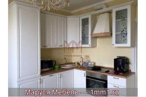 Кухня под белое дерево - Мебельная фабрика «Маруся мебель»