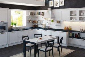 Кухня Порто из массива ясеня - Мебельная фабрика «Ликарион»