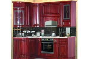 Кухня Прага 140х205 - Мебельная фабрика «Кубань-мебель»