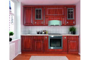 Кухня Прага 240 - Мебельная фабрика «Кубань-мебель»