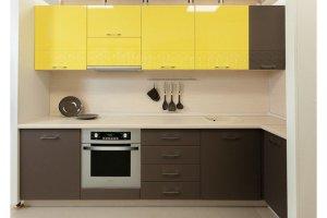Кухня Призма с фрезеровкой фасада - Мебельная фабрика «Хомма»