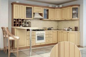 Кухня с барной стойкой Прованс - Мебельная фабрика «Ренессанс»