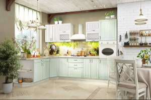 Кухня Прованс вариант 2 - Мебельная фабрика «ДИАЛ»