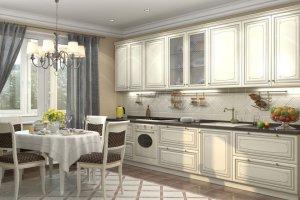 Кухня прямая 001 - Мебельная фабрика «МЕБЕЛИАНА»