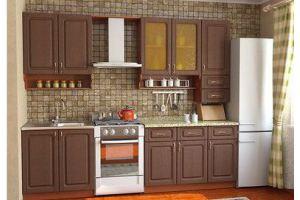 Кухня прямая 1 - Мебельная фабрика «Мебель Шик» г. Ульяновск