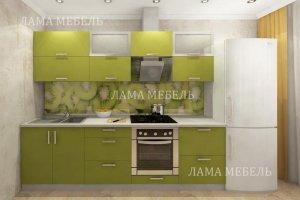 Кухня прямая 2 - Мебельная фабрика «Лама»