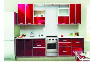 Кухня прямая 28 - Мебельная фабрика «Модерн»