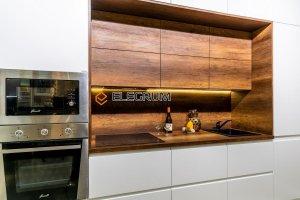 Кухня прямая Акрил и ЛДСП - Мебельная фабрика «ELEGRUM»