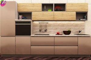 Кухня прямая Альберо - Мебельная фабрика «Акварель»