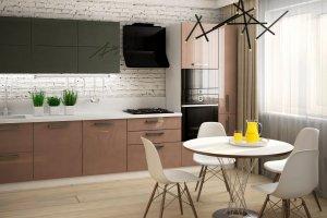 Кухня прямая Альфа - Мебельная фабрика «Ликарион»