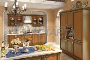 Кухня прямая Амати - Мебельная фабрика «Астарта»