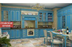 Кухня прямая Артемида эмаль - Мебельная фабрика «Графская кухня»