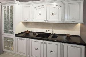 Кухня прямая белая массив - Мебельная фабрика «Курдяшев-мебель»