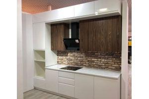 Кухня прямая белая Веста - Мебельная фабрика «Виктория»