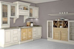 Кухня прямая Даниэла - Мебельная фабрика «Кухни Медынь»