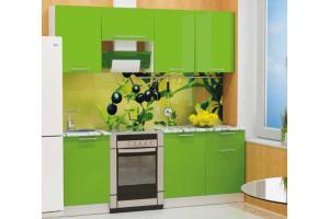 Кухня прямая Диана-11 - Мебельная фабрика «Фант Мебель»