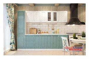 Кухня прямая ECОHOME - Мебельная фабрика «RealMebel»