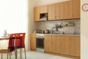 Кухня прямая Эконом - Мебельная фабрика «Волхова»