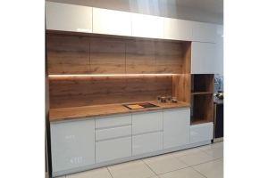 Кухня прямая эмаль глянец - Мебельная фабрика «Таита»