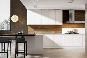 Кухня прямая эмаль Къелин - Мебельная фабрика «Виктория»