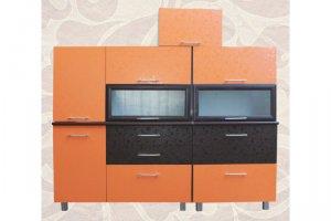Кухня прямая фасад евро - Мебельная фабрика «Александра»