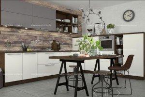 Кухня прямая fiaba - Мебельная фабрика «Cucina»