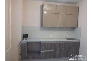 Кухня прямая глянцевая Ксения 04 - Мебельная фабрика «ОЛИМП»