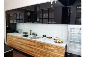 Кухня прямая глянцевая Майя - Мебельная фабрика «LEVANTEMEBEL»