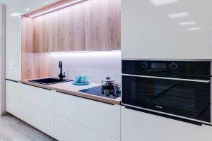 Кухня прямая глянец - Мебельная фабрика «ВерноКухни»