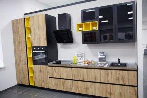 Кухня прямая Гола - Мебельная фабрика «Энли»