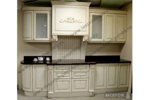 Кухня прямая из массива - Мебельная фабрика «Леспром»