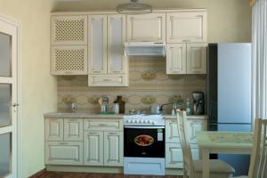 Кухня прямая из массива дерева - Мебельная фабрика «Рамзес»