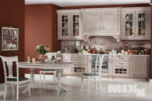 Кухня прямая классическая Темза - Мебельная фабрика «Кухни MIXX»
