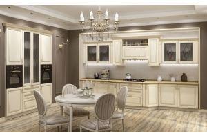 Кухня прямая классическая Valencia - Мебельная фабрика «AlvaLINE»