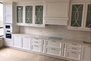Кухня прямая классика - Мебельная фабрика «Омега»