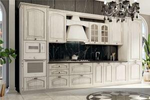 Кухня прямая Классика с патиной - Мебельная фабрика «Вита-мебель»