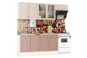 Кухня прямая Клер ЛДСП - Мебельная фабрика «Мебельный двор»