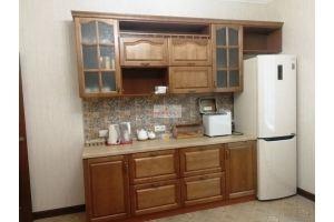 Кухня прямая коричневая - Мебельная фабрика «МуромМебель (ИП Баранихина Г.И.)»