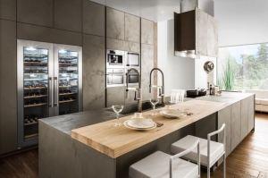 Кухня в стиле лофт Крона - Мебельная фабрика «Симбирская мебельная компания»