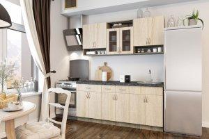Кухня прямая ламината - Мебельная фабрика «Лев Мебель»