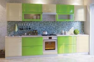Кухня прямая ЛДСП Лора - Мебельная фабрика «ARC мебель»