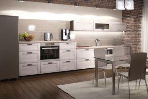 Кухня прямая ЛДСП Penny - Мебельная фабрика «AlvaLINE»