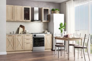 Кухня прямая Легенда 33 - Мебельная фабрика «Ваша мебель»