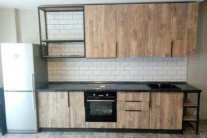Кухня прямая Лофт - Мебельная фабрика «ДЖАЗ»