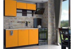 Кухня прямая Магнолия-2 - Мебельная фабрика «Империя»
