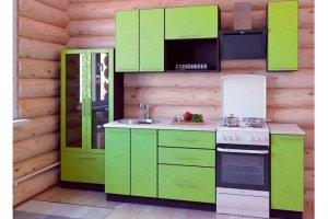 Кухня прямая Магнолия-3 - Мебельная фабрика «Империя»