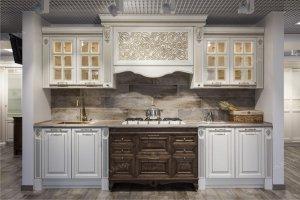 Кухня прямая массив - Мебельная фабрика «ARVA»