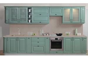 Кухня прямая Массив 3660 - Мебельная фабрика «Боровичи-Мебель»